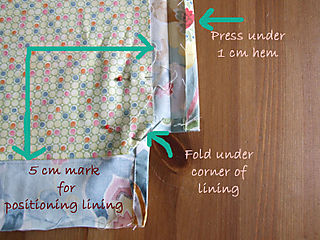 Girlie Bag Lining in position copy