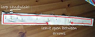 Tie Back loop sandwich copy