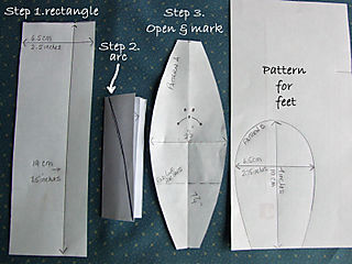 BBB Pattern pieces