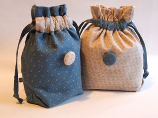 Small Bags Weekend Blue Bags